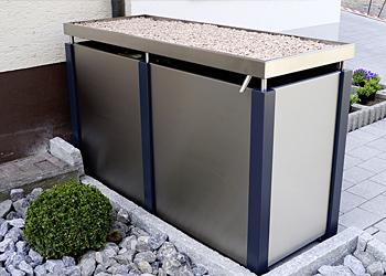 Rank- & Mülltonnenboxen